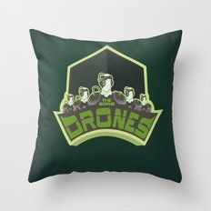 The Borg Drones Throw Pillow