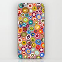 freckle spot blush iPhone & iPod Skin