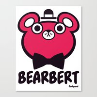 Bearbert Canvas Print