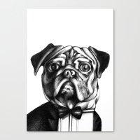 Puglass Canvas Print
