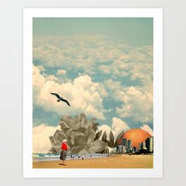 Art Print - Holiday in the Sun - TRASH RIOT