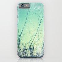 sea plants (teal) iPhone 6 Slim Case