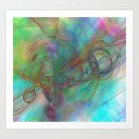 Magic Touch Art Print