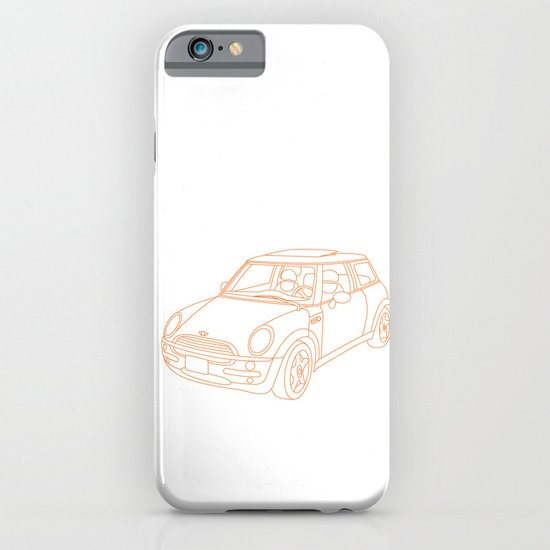 My Mini Cooper iPhone & iPod Case