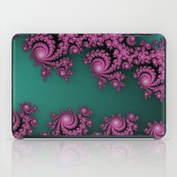 Fractal In Dark Pink And… iPad Case