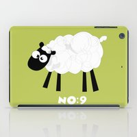 Sheep Number 9.... iPad Case