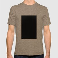Black #4 (Ink) Mens Fitted Tee Tri-Coffee SMALL