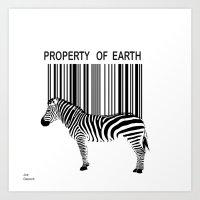 Property of Earth Art Print