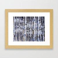 Birch Slap Framed Art Print