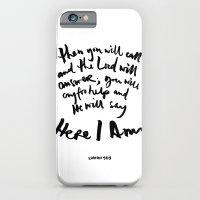 Isaiah 58:9 iPhone 6 Slim Case