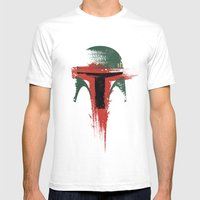 Bounty Hunter Mens Fitted Tee White SMALL