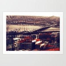 Galata Art Print
