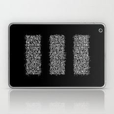 tri black Laptop & iPad Skin