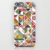 iPhone & iPod Case featuring Chromatic Grid by Veronica Galbraith