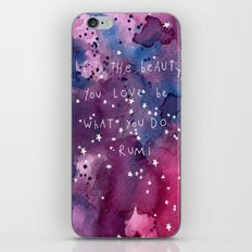 let the beauty you love be what you do iPhone & iPod Skin