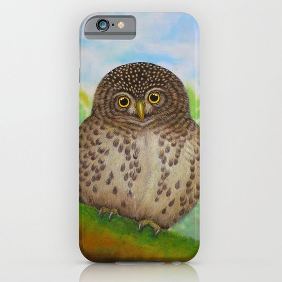 Collared Owlet iPhone & iPod Case