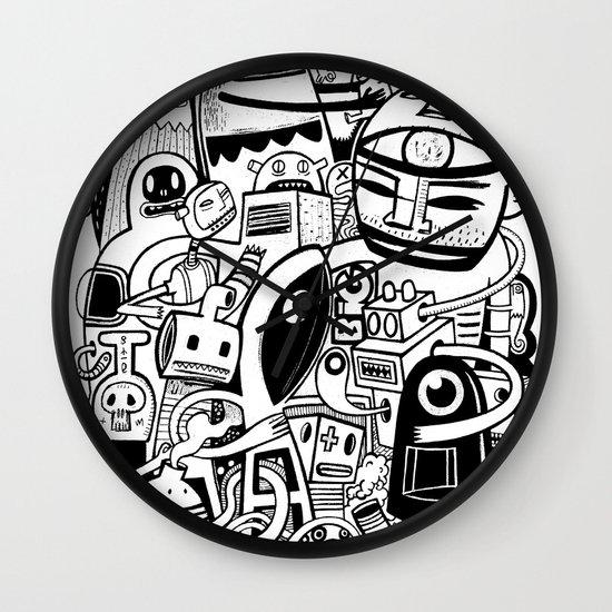 BIG - BW Wall Clock