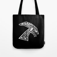 Celtic xenomorph Tote Bag