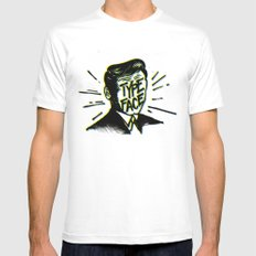 Typeface Mens Fitted Tee White SMALL