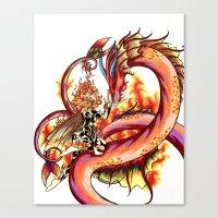 Elemental Series - Fire Canvas Print