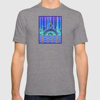 Sunrise On Bear Lake Mens Fitted Tee Tri-Grey SMALL