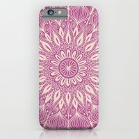 iPhone & iPod Case featuring Vintage Mandala-Purply by Groovity