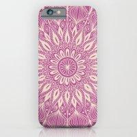 Vintage Mandala-Purply iPhone 6 Slim Case