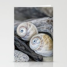Shark's eye shells Stationery Cards