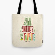 Buddy The Elf! Smiling's… Tote Bag
