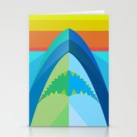 SHARK TIME Stationery Cards