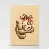 Pink Bow Precious Stationery Cards