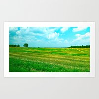 Kentucky Skies  Art Print