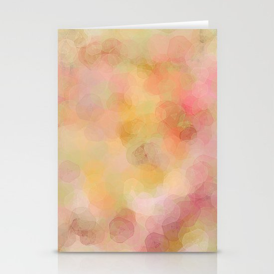 Colour Blur Stationery Card