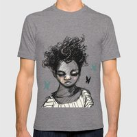 The Most Beautiful Flowe… Mens Fitted Tee Tri-Grey SMALL