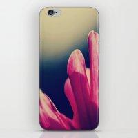 moody pink. iPhone & iPod Skin