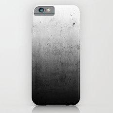 Black Ombre Concrete Texture iPhone 6 Slim Case