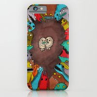 iPhone & iPod Case featuring Us and Them 1 by Tyson Bodnarchuk