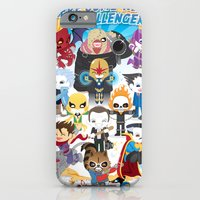 iPhone & iPod Case featuring ULTIMATE MARVEL VS CAPCOM 3 ROBOTICS by We are Robotic