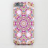 Love and Kisses Mandala iPhone 6 Slim Case