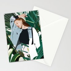 Blue (Lady) Stationery Cards