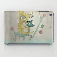 Vintage Whimsical Christmas iPad Case