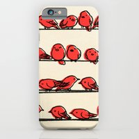 iPhone Cases featuring Hanging Out by Eric Fan