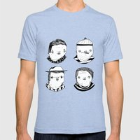 Drug Dealers Mens Fitted Tee Tri-Blue SMALL