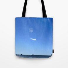 Blue Memory Tote Bag
