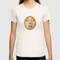 Cameo Womens Fitted Tee Natural SMALL
