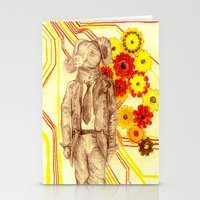 Steampunk Ram Stationery Cards