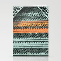 ROOF PATTERNS Stationery Cards