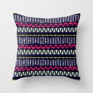 Pattern Due Throw Pillow