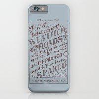 Jane Austen Covers: Sense and Sensibility iPhone 6 Slim Case