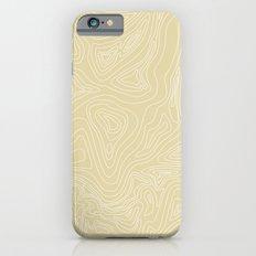 Ocean depth map - sand iPhone 6 Slim Case